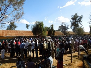 Despite fears of violence, Kenyans remained largely peaceful and showed enormous determination to cast their vote.