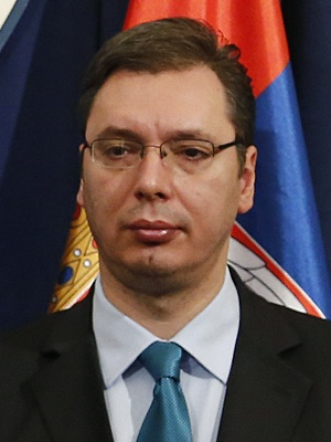 The big winner: Aleksandar Vucic is the new prime minister of Serbia after gaining a majority in the parliament elections. (c) Wikipedia