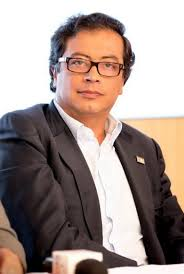 The former mayor of Bogotá Gustavo Petro. He was kicked out of office on 20 March 2014. (c) Wikipedia