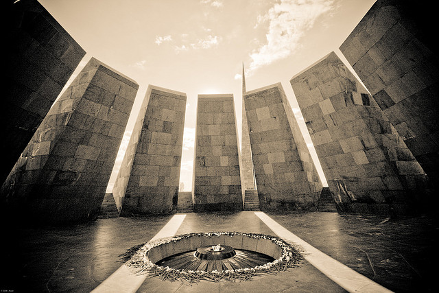 Armenian genocide memorial (c) Flickr/Zadoune