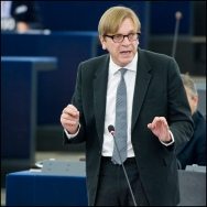Guy Verhofstadt from the LIberals (ALDE) (c) Flickr/European Parliament
