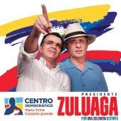 Óscar Zuluaga (and Álvaro Uribe) (c) twtrland.com