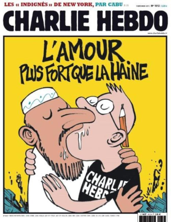 Charlie Hebdo: Do not allow them to win!